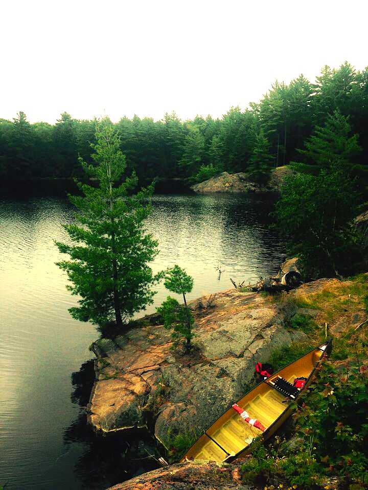 13 canoe parking