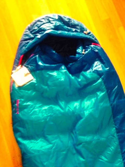 my new @marmot sleeping bag!