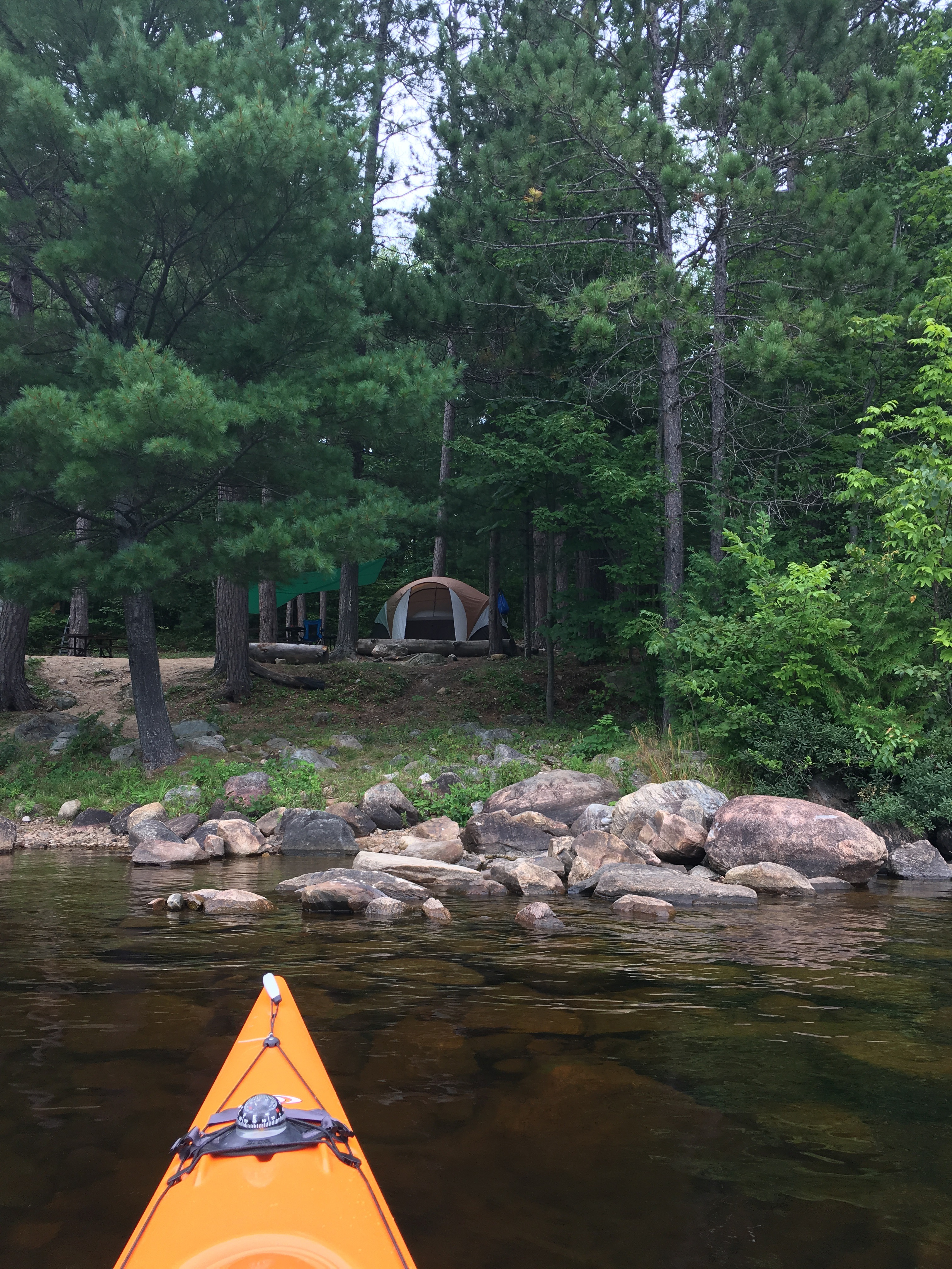 Brent Campground – Relaxing W/E…Well… til I hit a deer