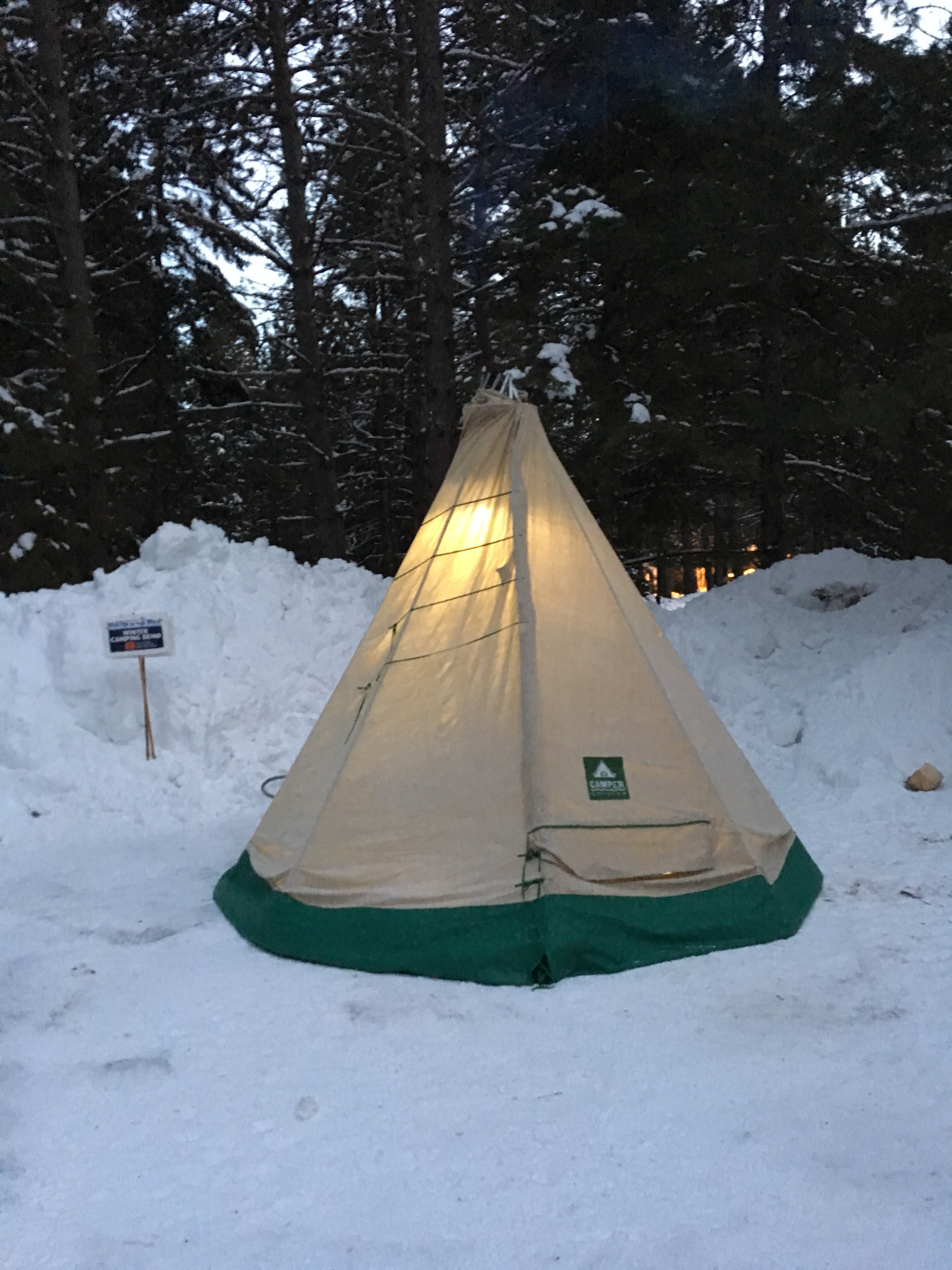 At the start of November I began thinking about winter a bit and knew that if I wanted to do some solo backcountry trips I was either cold tenting ... & How to Make A Hot Tent Camper Christina Style u2013 Part 1 ...