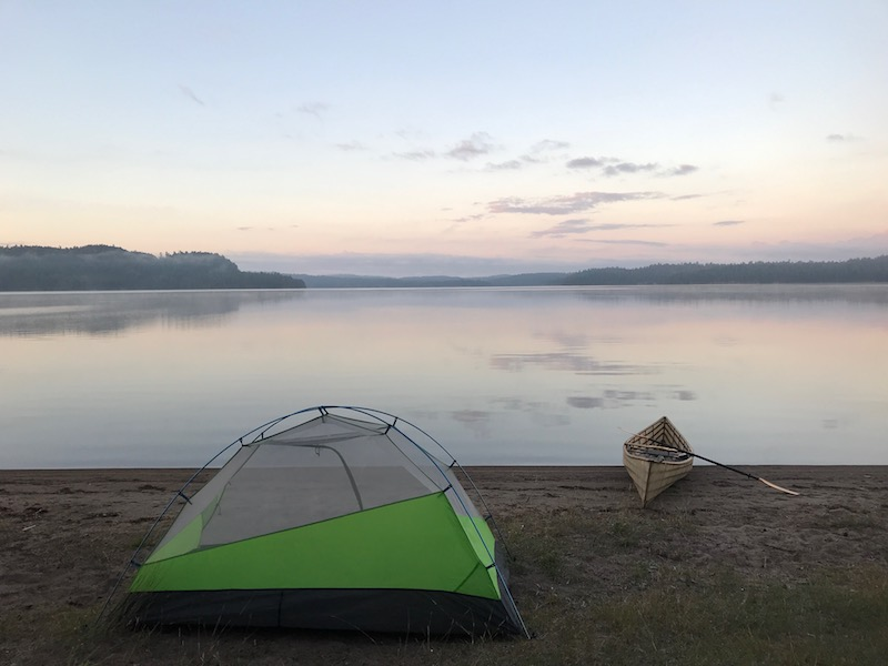 Temagami – Alone on a 4 Day Canoe Trip – Part 1- Sandy Inlet